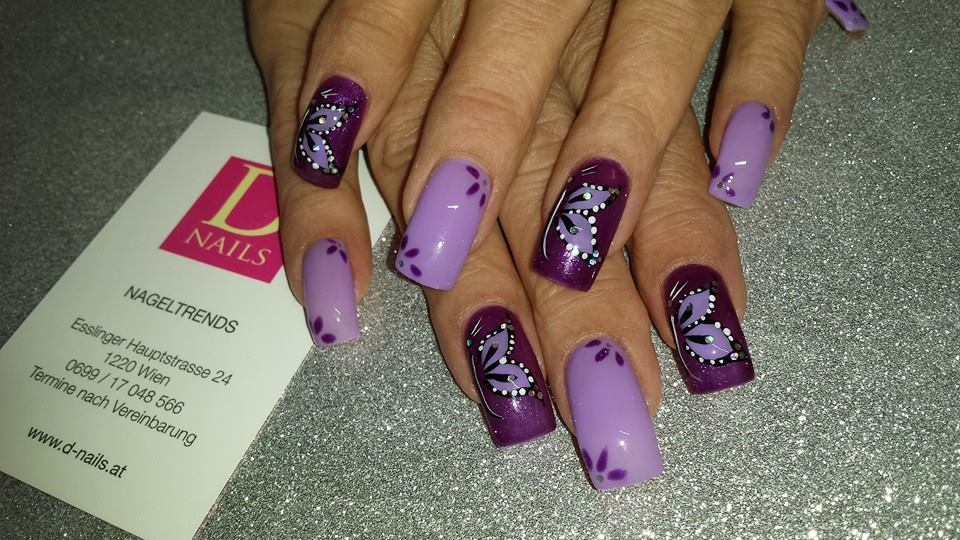 Violette Dreams D Nails