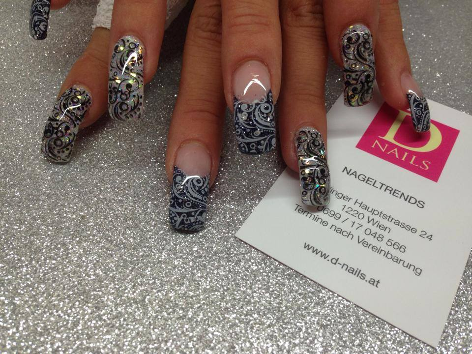 Baisley Muster By D-Nails Nageldesign Wien 1220 | D-NAILS